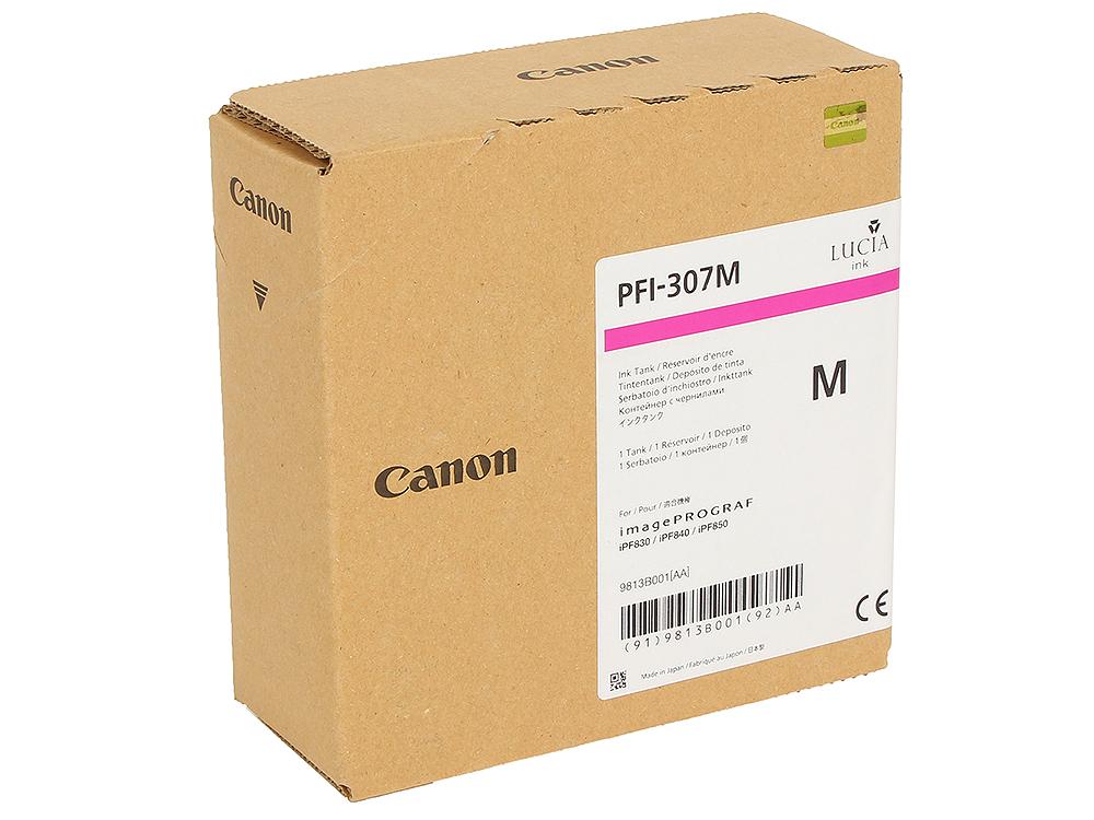 Картридж Canon PFI-307 M Пурпурный картридж canon pfi 703c 2964b001