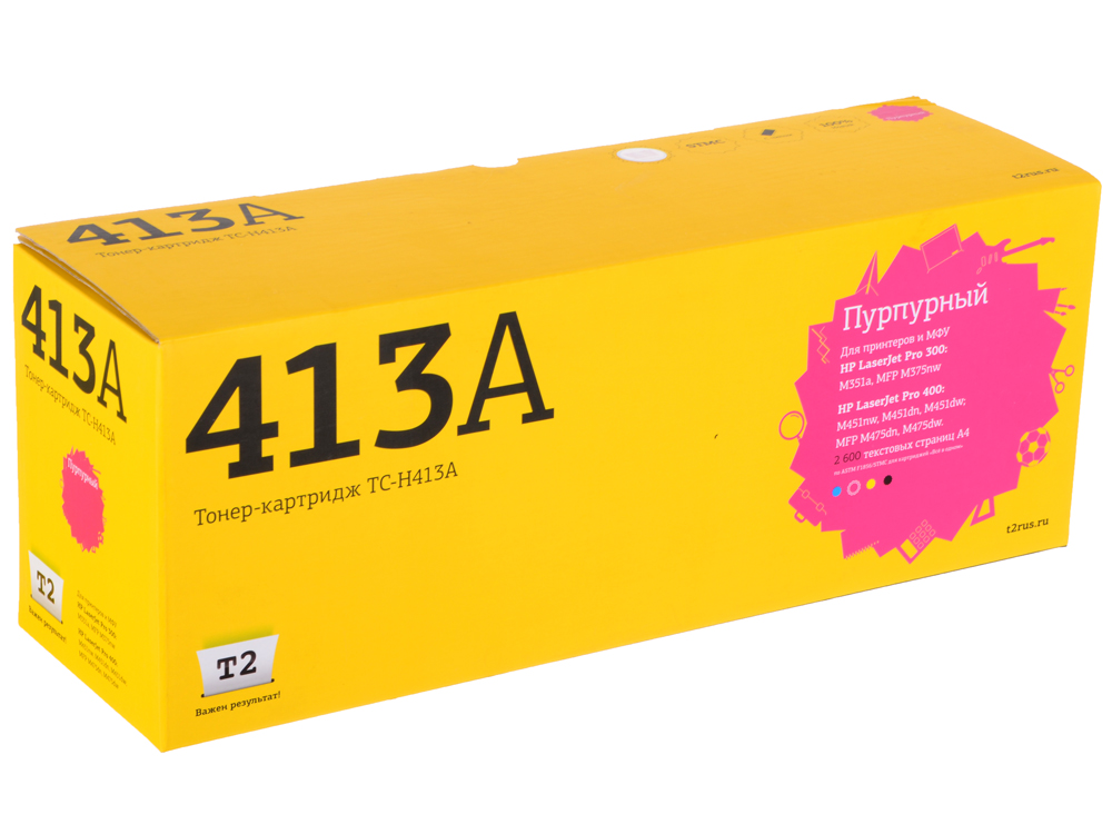 Картридж T2 TC-H413 (аналог CE413A) для HP LJ Pro 300 M351a/400 M451nw (2600 стр.) пурпурный, с чипом new effect pedal mooer hustle drive distortion pedal true bypass excellent sound
