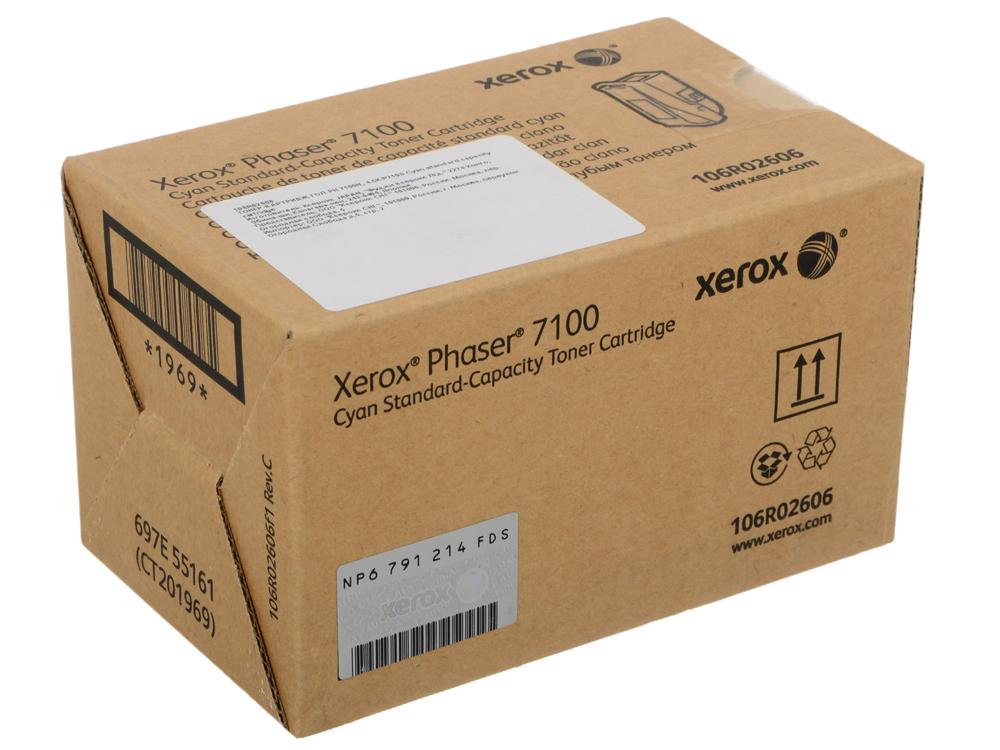 Картридж Xerox 106R02606 Phaser 7100 Standard Capacity Cyan Toner Cartridge original joyetech cuboid starter kit 150w cuboid temp control mod firmware upgradable cubis atomizer 3 5ml tank capacity