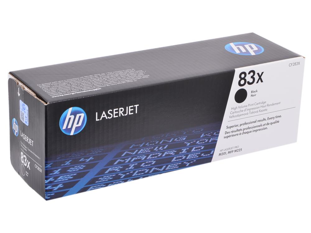 Картридж HP CF283X Чёрный. 2200 страниц.