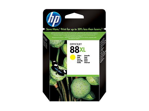 Картридж струйный HP C9393AE N 88XL Жёлтый для OfficeJet Pro K550 hp officejet pro 8210 принтер струйный d9l63a