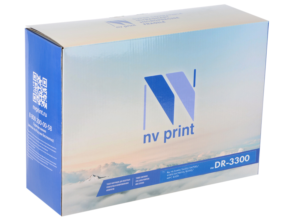 Барабан NV Print для Brother DR-3300 HL5440D/5450DN/5470DW/6180DW/DCP8110/ 8250/MFC8520/8950 flower candles print waterproof shower curtain