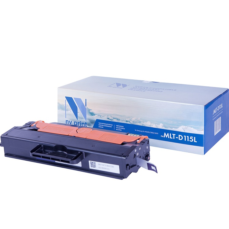Картридж NV Print для Samsung MLT-D115L SL-M2620/2820/2870 картридж nv print для samsung mlt d115l sl m2620 2820 2870