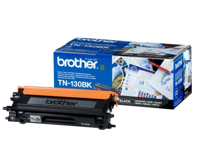 Тонер-картридж Brother TN130BK чёрный, для HL-4040CN/HL-4050CDN/DCP-9040CN/MFC-9440CN (2500 стр) тонер картридж brother tn130c голубой для hl 4040cn hl 4050cdn dcp 9040cn mfc 9440cn 1500 стр
