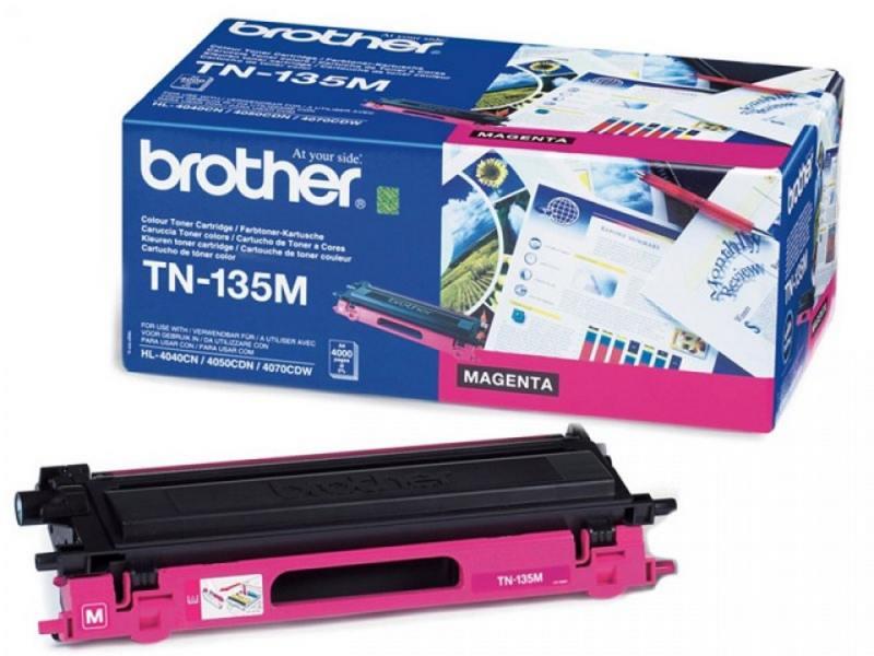 Тонер-картридж Brother TN130M пурпурный, для HL-4040CN/HL-4050CDN/DCP-9040CN/MFC-9440CN (1500 стр) тонер картридж brother tn130c голубой для hl 4040cn hl 4050cdn dcp 9040cn mfc 9440cn 1500 стр