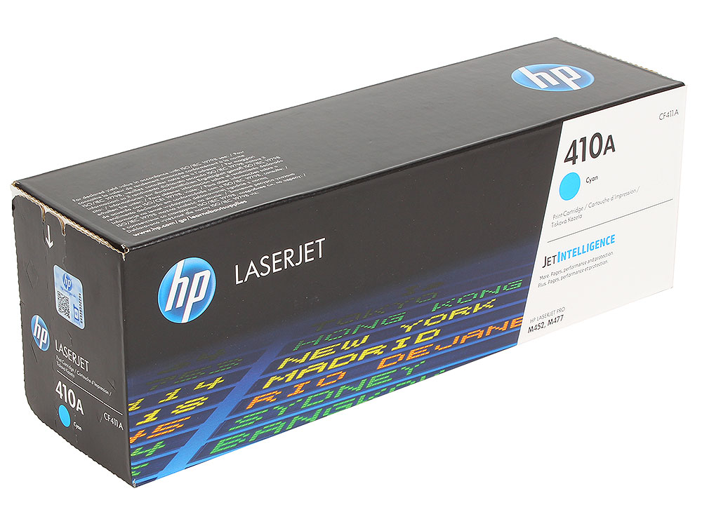 Картридж HP CF411A для Color LaserJet Pro M452/MFP M477/M377dw . Голубой. 2300 страниц. new paper delivery tray assembly output paper tray rm1 6903 000 for hp laserjet hp 1102 1106 p1102 p1102w p1102s printer