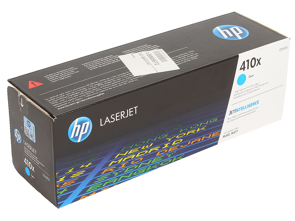Картридж HP CF411X для Color LaserJet Pro M452/MFP M477 . Голубой. 5000 страниц. hot sale magenta toner compatible for hp laserjet pro cf413x m452 dn dw nw m470 tri color 5000 pages free shipping
