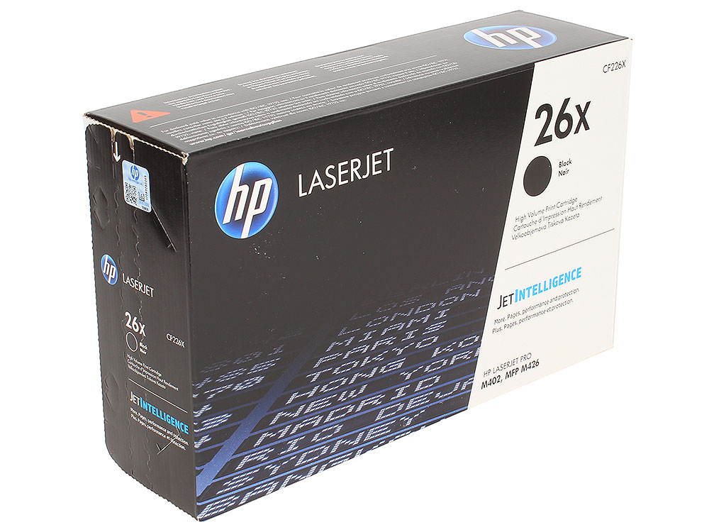 Картридж HP CF226X для HP LaserJet Pro M402/MFP M426 . Чёрный. 9000 страниц. картридж t2 для hp tc h85a laserjet p1102 1102w pro m1132 m1212nf m1214nfh canon i sensys lbp6000 cartrige 725 1600 стр с чипом