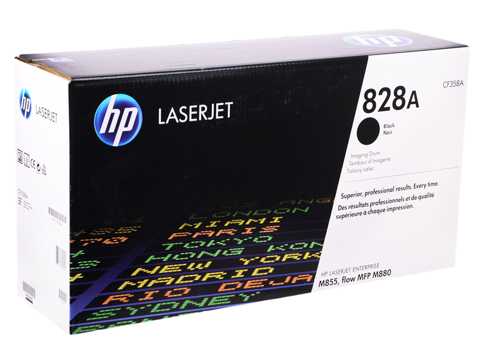 Барабан HP CF358A для HP Color LaserJet m855 m855dn a2w77a m855x+ a2w79a m855xh a2w78a. Чёрный. 30000 страниц. фотобарабан hp cf358a для color laserjet enterprise m855 m880 828a черный