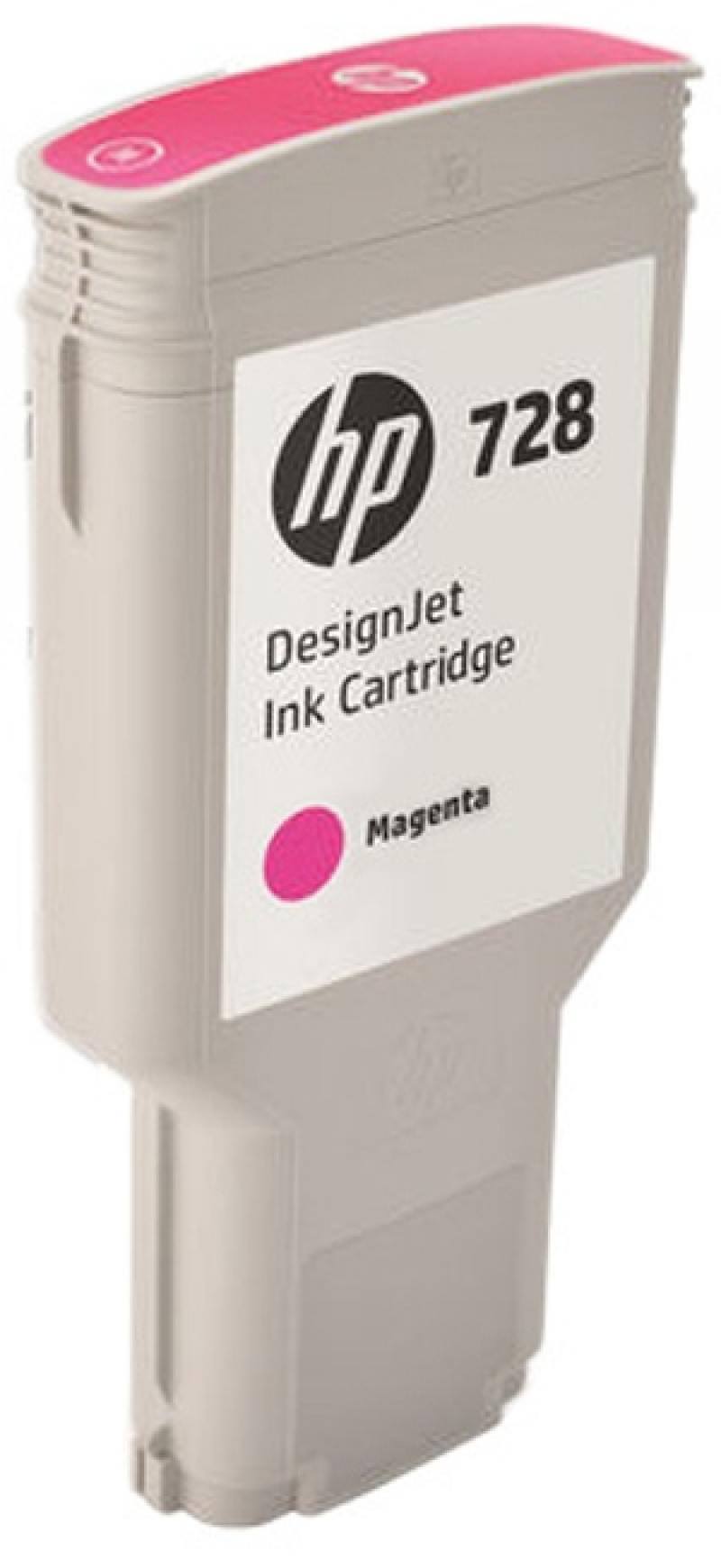 Картридж HP F9K16A (HP 728) для DesignJet T730, T830. Пурпурный. 300 мл. kaypro краска для волос kay direct зеленый 100 мл