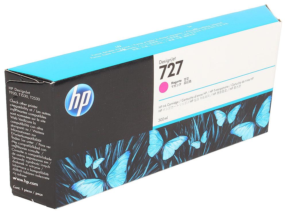 Картридж HP F9J77A №727 для Designjet T920, T930, T1500, T1530, T2530. Пурпурный. 300 млl картридж hp f9j80a 727 для designjet t920 t930 t1500 t1530 t2530 серый 300 млl