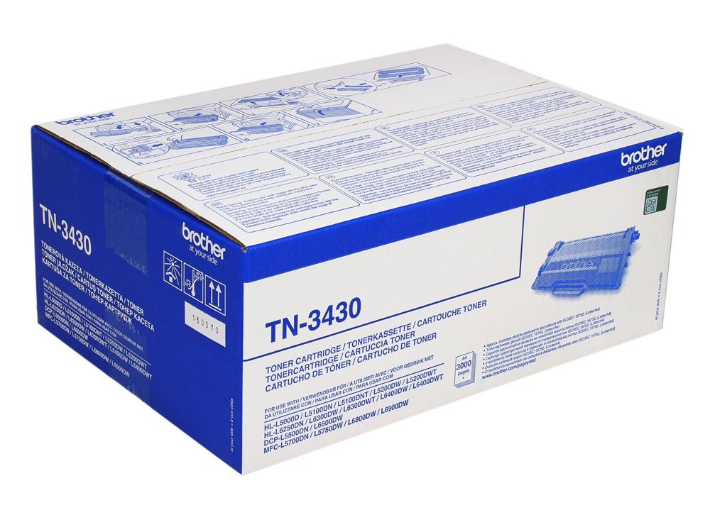 Тонер-картридж Brother TN3430 (3000стр) тонер картридж mx 500gt