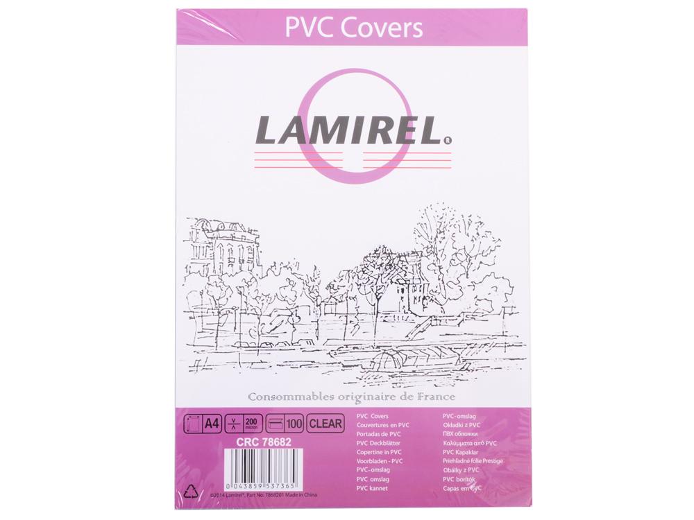Обложки Lamirel Transparent A4, PVC, прозрачные, 200мкм, 100шт diy car headlamp light pvc sticker transparent 300cm