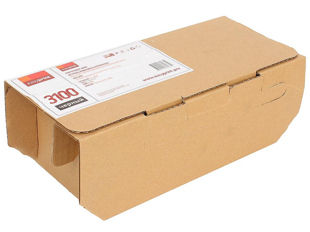 Тонер-картридж EasyPrint LK-3100 для Kyocera FS-2100/ECOSYS M3040dn/M3540dn. Чёрный. 12500 страниц. с чипом korting okb 760 fx