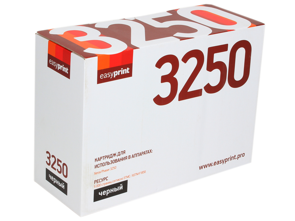 Картридж EasyPrint LX-3250 для Xerox Phaser 3250. Чёрный. 5000 страниц. с чипом (106R01374) картридж easyprint lx 3315 для xerox workcentre 3315dn 3325dni чёрный 5000 страниц с чипом 106r02310