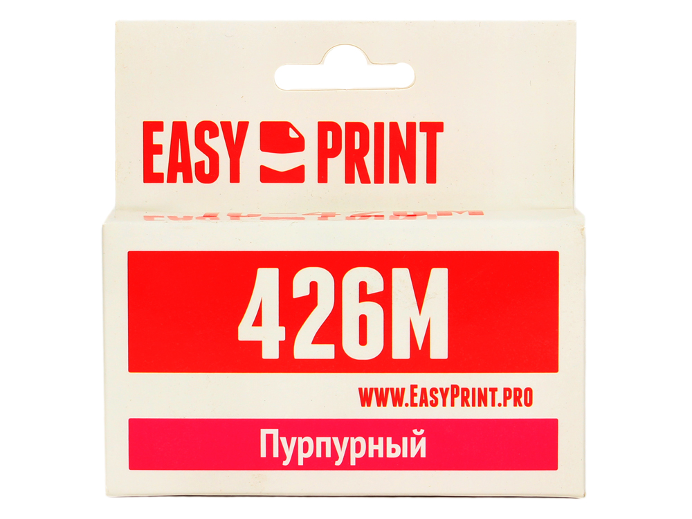 Картридж EasyPrint IC-CLI426M для Canon PIXMA iP4840/MG5140/MG6140/MX884. Пурпурный. с чипом pgi 425 cli 425 refillable ink cartridges for canon pgi425 pixma ip4840 mg5140 ip4940 ix6540 mg5240 mg5340 mx714 mx884 mx894