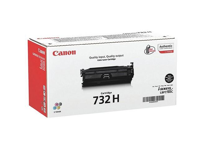 Картридж Canon 732Bk H для принтеров LBP7780Cx. Чёрный. 12000 страниц
