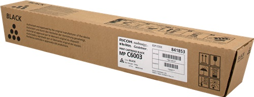 Ricoh Toner Cartridge MPC6003 (black) cxs l ball bushing bearing pneumatic compressed air cylinder type smc type dual rod basic type rubber bumper sanmin