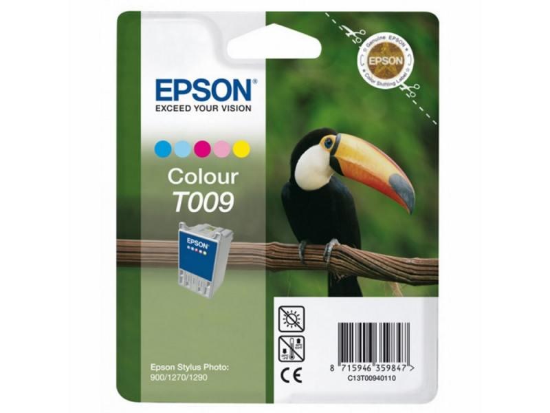 Картридж Epson C13T00940110 для Stylus Photo 900/1270/1290 цветной 330стр epson t009401 color картридж для stylus photo 1270