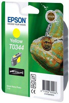 Картридж Epson C13T03444010 для Epson Stylus Photo 2100 Yellow принтер струйный epson l312