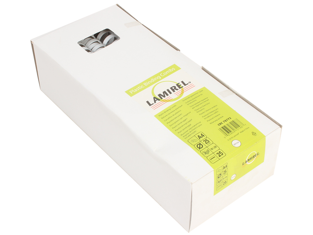 Пружина пластиковая lamirel, 25 мм. цвет: