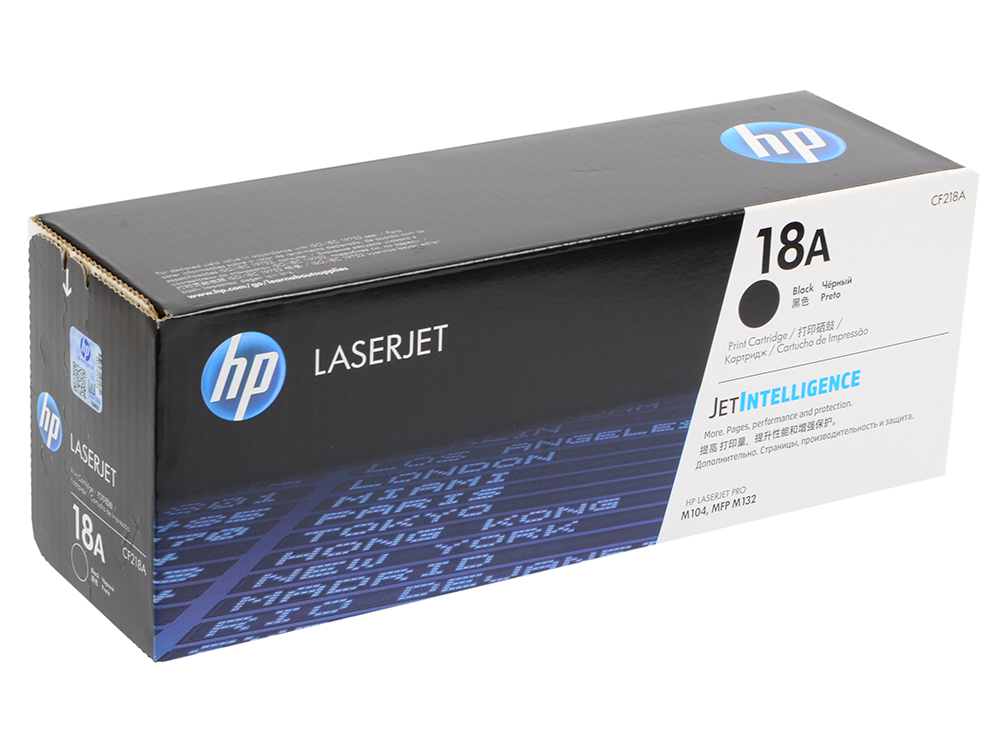 Картридж HP CF218A (HP 18A) для HP LaserJet Pro M104/MFP M132. Чёрный. 1400 страниц. new toner for hp laserjet pro m104a hp laserjet pro mfp m132 compatible for hp cf218a without chip