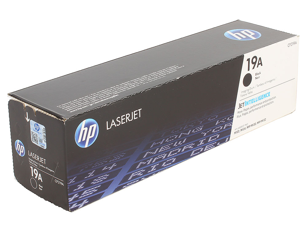 Картридж HP CF219A (HP 19A) для HP LaserJet Pro MFP M104/M130/M132. Чёрный. 12000 страниц. new paper delivery tray assembly output paper tray rm1 6903 000 for hp laserjet hp 1102 1106 p1102 p1102w p1102s printer