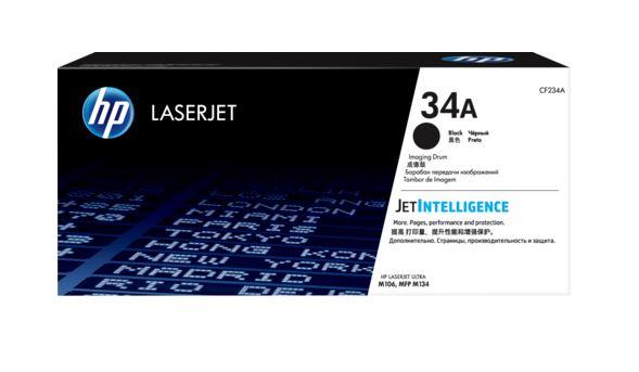 Фотобарабан HP CF234A (HP 34A) для HP LaserJet Pro MFP Ultra M106/M134. Чёрный. 9200 страниц. фотобарабан hp cf234a hp 34a для hp laserjet pro mfp ultra m106 m134 чёрный 9200 страниц