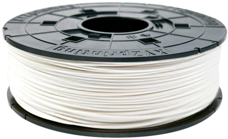 Пластик для принтера 3D XYZ ABS белый 1.75 мм/600гр RF10BXEU02B abs 1 75 3d 395m