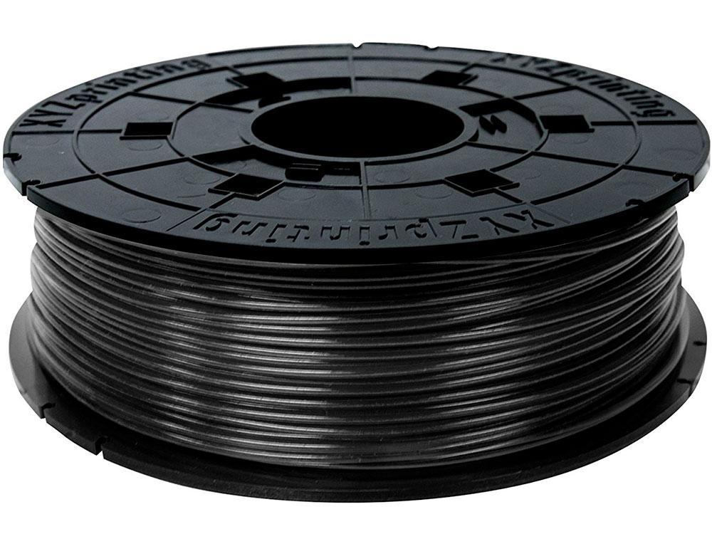 Пластик для принтера 3D XYZ PLA черный 1.75/600гр RFPLBXEU00H 3d ручка xyz 1 0 3n10xxeu00g