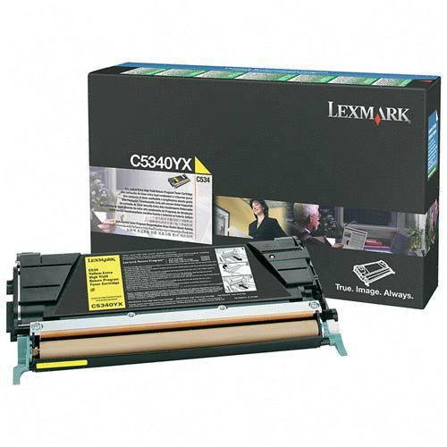 Картридж Lexmark C5340YX для C534 желтый compatible toner lexmark c930 c935 printer laser use for lexmark refill toner c940 c945 toner bulk toner powder for lexmark x940