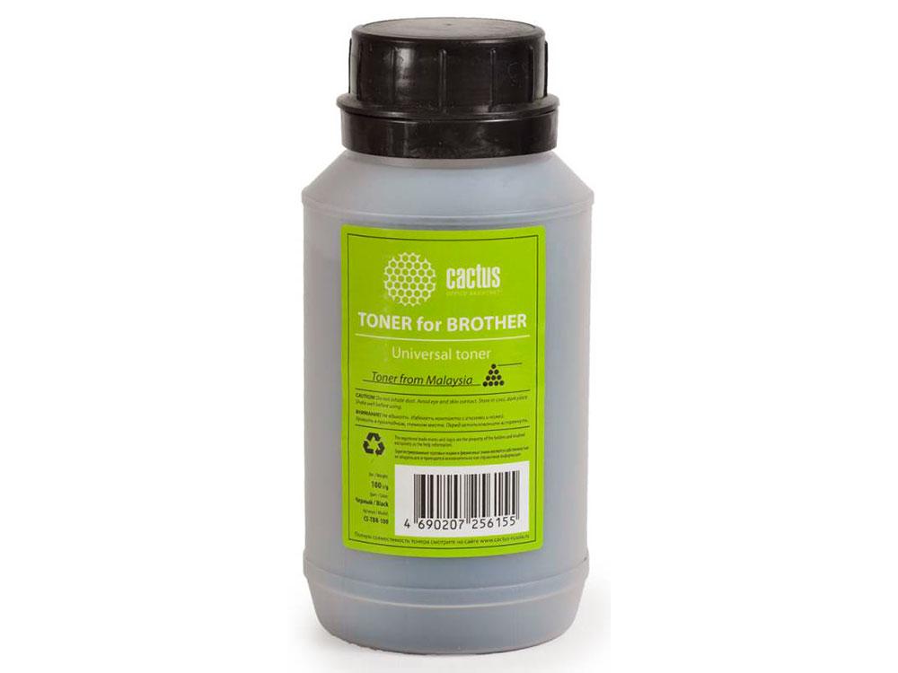 Тонер Cactus CS-TBR-100 Universal toner Brother черный 100гр