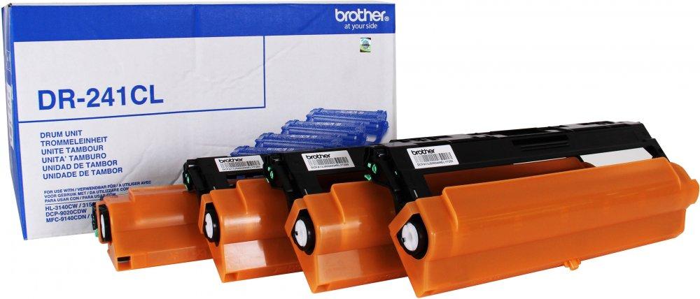 Фотобарабан Brother DR241CL для HL-3140CW/3170CDW/DCP-9020CDW/MFC-9330CDW (15000стр, комплект 4шт) мфу brother dcp 9020cdw