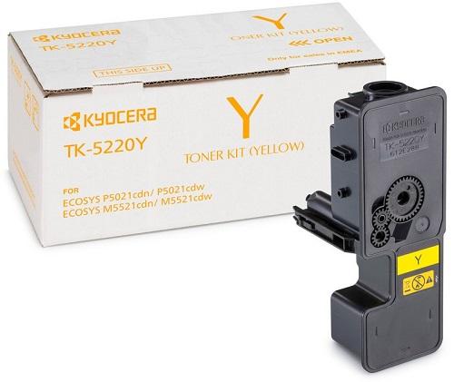 все цены на Тонер-картридж Kyocera TK-5220Y желтый (yellow) 1200 стр. для Kyocera M5521/P5021 онлайн