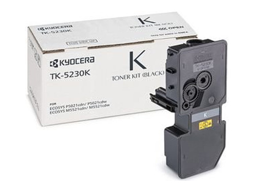 Тонер Kyocera TK-5230K для Kyocera ECOSYS M5521cdn/cdw, M5526cdn/cdw, P5021cdn/cdw, P5026cdn/cdw. Чёрный. 2600 страниц. lcl tk580 tk 580 tk 580k tk 580c tk 580m tk 580y 5 pack toner cartridge compatible for kyocera ecosys p 6021 cdn fs c 5150 dn