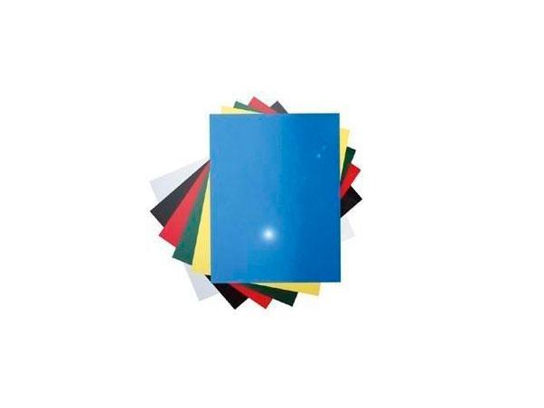 Обложка для переплетов Fellowes Delta A4 тиснение под кожу белый 100шт LA-7868501