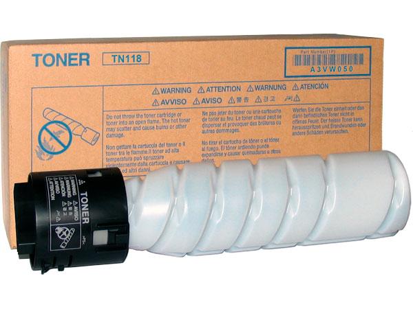 Тонер Konica Minolta TN118 для bizhab 195/215/235 черный 12000стр