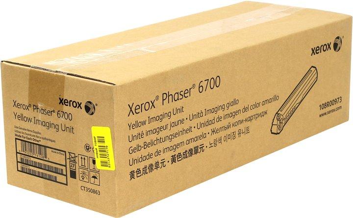Фотобарабан Xerox 108R00973 желтый (yellow) 50000стр для Xerox Phaser 6700 цена