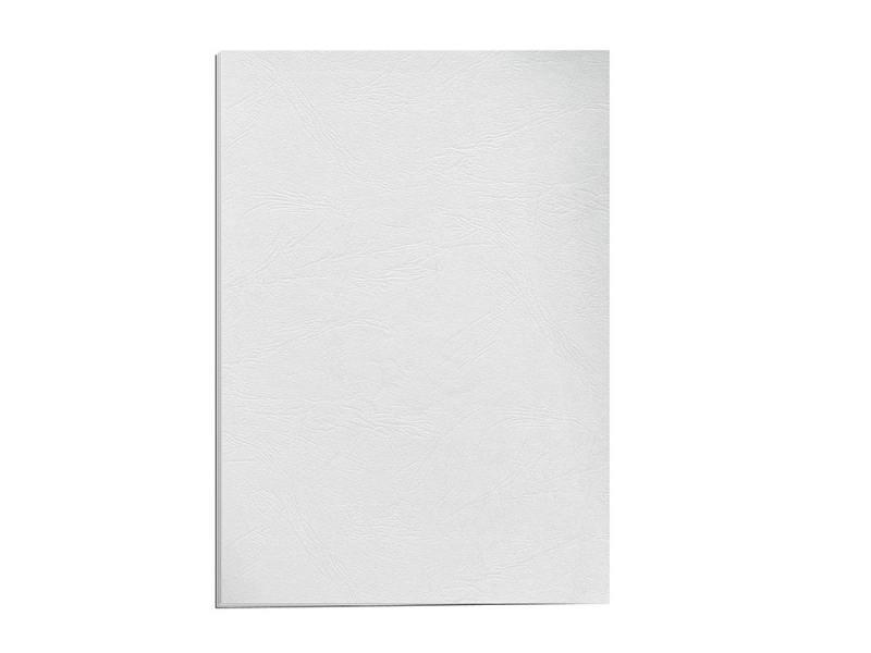 Обложка для переплетов Fellowes Delta A4 тиснение под кожу белый 100шт FS-5370101 обложка для термопереплета fellowes fs 53912