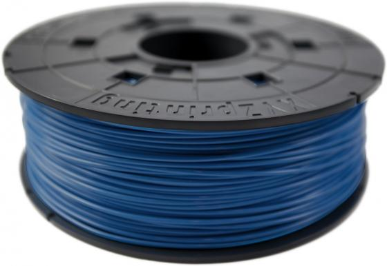 Пластик для принтера 3D XYZ ABS синий 1.75 мм/600гр RF10XXEUZYC abs картридж xyz синий 1 75 мм 600гр 4715872745404