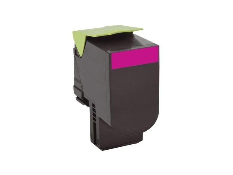 Тонер-Картридж Lexmark 80C8HME для CX310/410/510 пурпурный 3000стр тонер lexmark 1382150 black