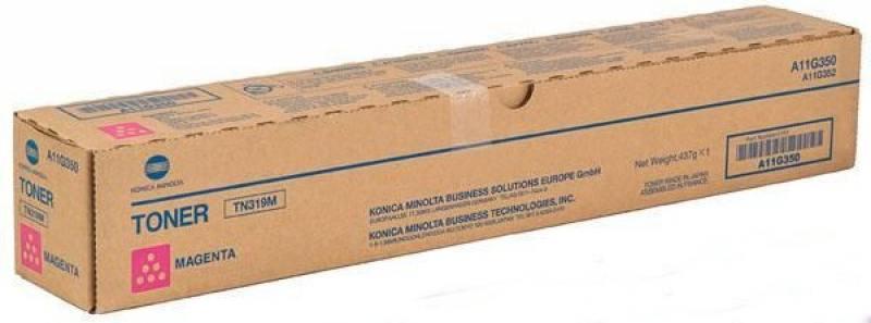 Тонер Konica Minolta A8K3350 TN-221M для bizhub C227/287 пурпурный