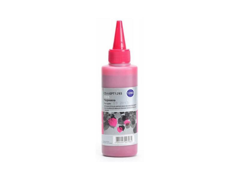 Чернила Cactus CS-I-EPT1293 для Epson Stylus Office B42/BX305/BX305F/BX320/BX525 100мл пурпурный