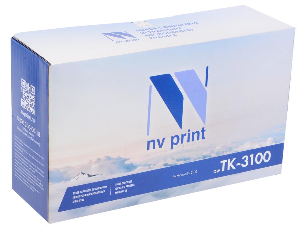 Картридж NV-Print совместимый Kyocera TK-3100 для FS-2100D/2100DN/ECOSYS M3040dn/M3540dn (12500k) картридж t2 tc k3100 для kyocera fs 2100d 2100dn ecosys m3040dn m3540dn черный 12500стр