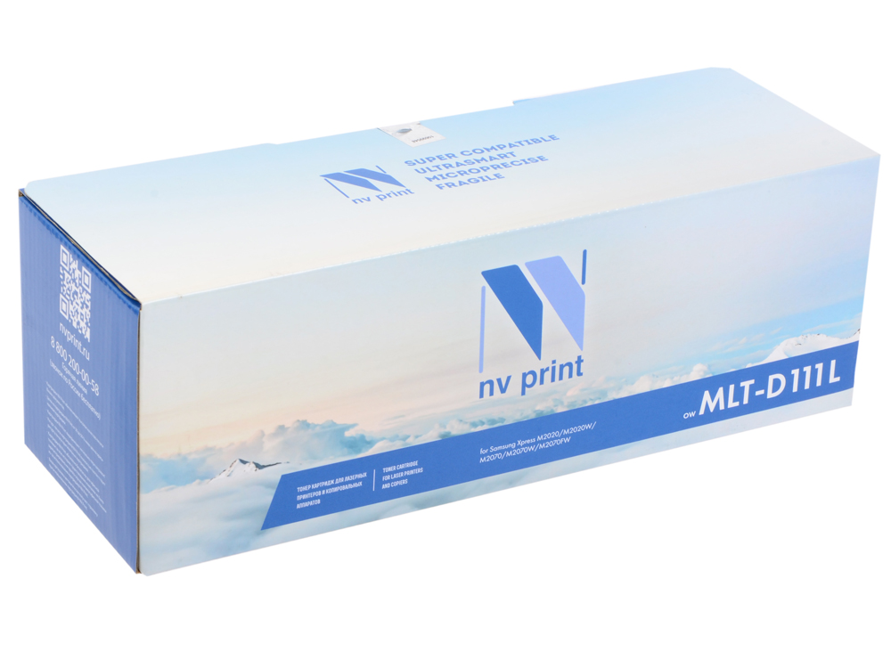 Картридж NV-Print совместимый Samsung MLT-D111L для Xpress M2020/M2020W/M2070/M2070W/M2070FW 1pcs compatible toner cartridge mlt d111s mlt d111s 111 for samsung m2022 m2022w m2020 m2021 m2020w m2021w m2070 m2071fh printer