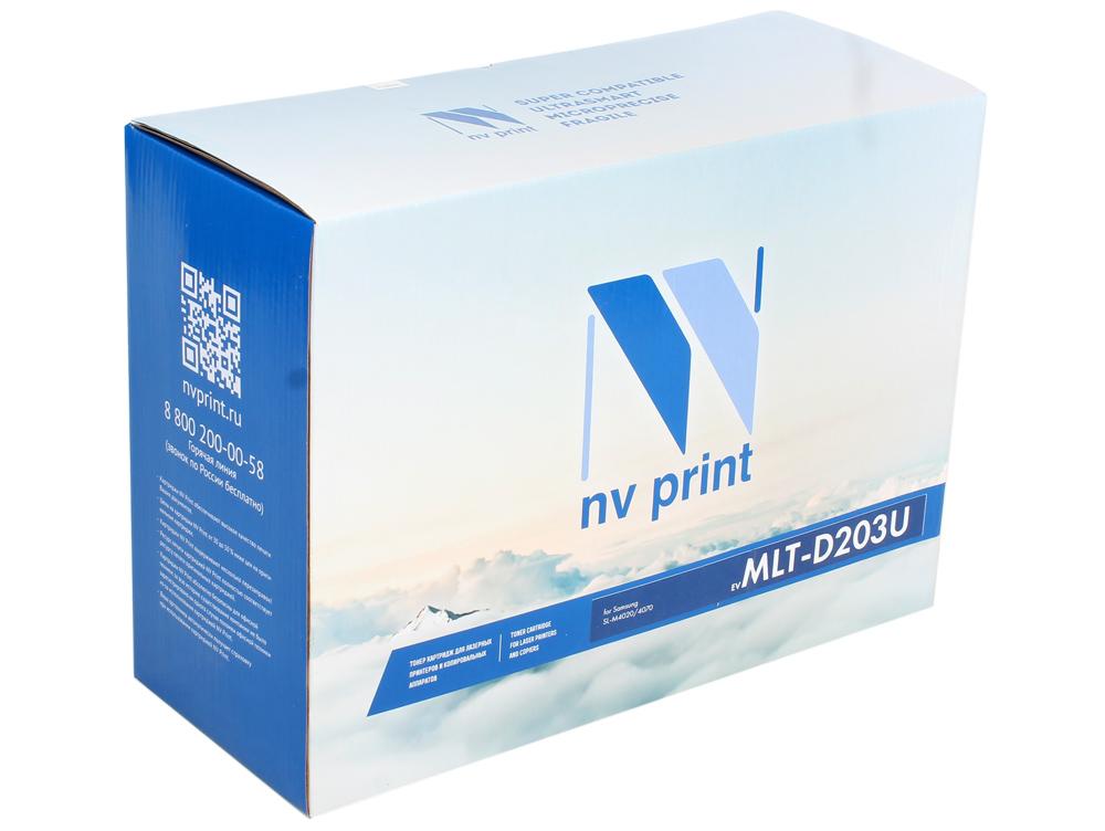 Картридж NV-Print совместимый Samsung MLT-D203U для SL-M3820/3870/4020/4070. Чёрный. 15 000 страниц. картридж nv print для samsung mlt d115l sl m2620 2820 2870