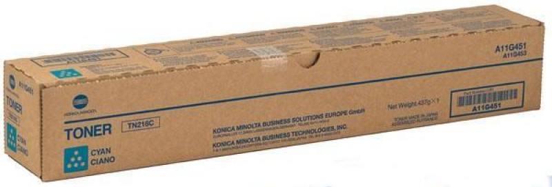 Тонер Konica Minolta A8K3450 TN-221C для bizhub C227/287 синий тонер konica minolta bizhub c227 c287 черный tn 221k