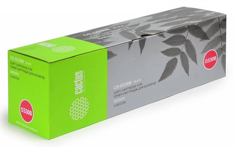 Картридж Cactus CS-O330BK для OKI C330/C530 черный 3500стр lm6 330