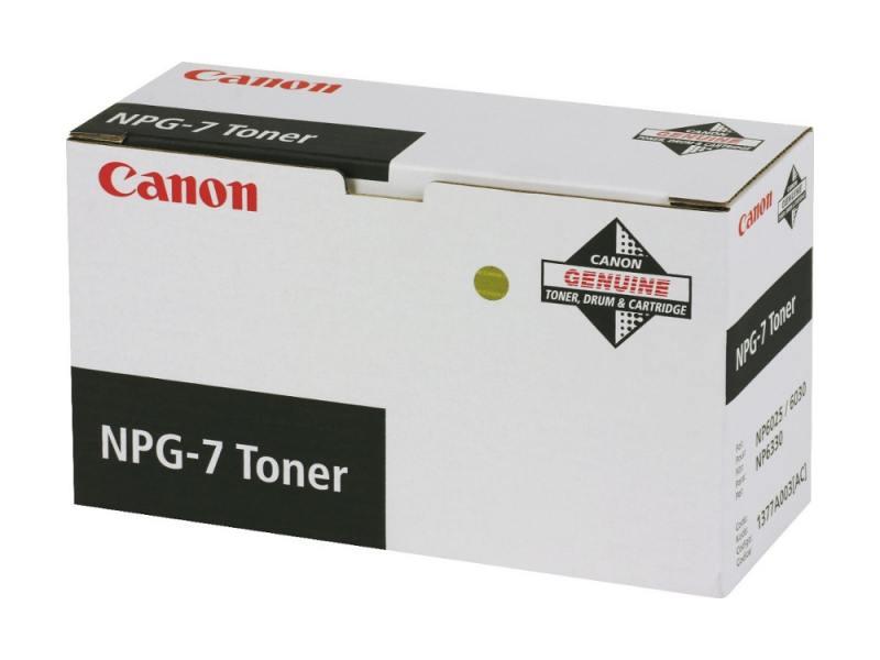 Картридж Canon NPG-7 для NP6025 6330 6330 черный 10000стр картридж canon npg 1
