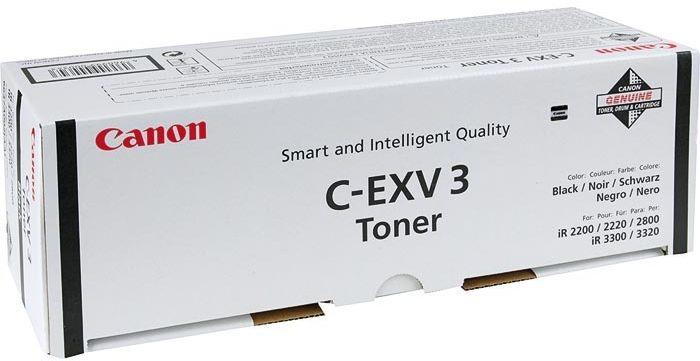 Тонер Canon C-EXV3 для Canon iR2200/2800/3300 туба 0.795 черный 6647A002 тонер canon c exv6 для np 7161 черный 380грамм туба [1386a006]